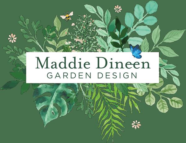 Maddie Dineen Garden Design Retina Logo